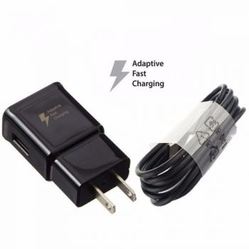 Cargador Fast Charger Samsung Galaxy S9 Usb Tipo C.