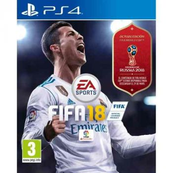 Fifa 18 Ps4 Físico. Incluye Rusia World Cup 2.018 Sellado