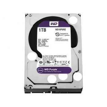 Disco Duro Wd Purple 1tb Surveillance Sata 6gb 64mb Western