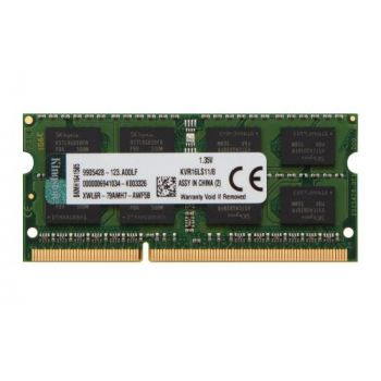 Memoria Ram Kingston So-dimm Ddr3l Pc1600 8gb 1.35v Laptop