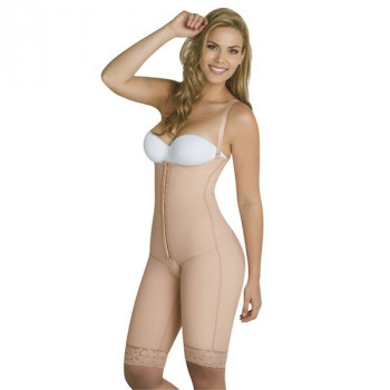 Faja Moldeadora y Levantacola Power Net A La Rodilla Tira Delgada Thin & Happy TALLA XL