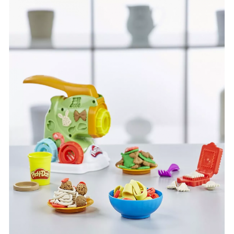 592f2dfecc 🥇 Play-doh Kitchen Creations Fábrica De Pasta + Lata 1 Oz ...