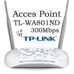 Acces Point Inalámbrico N 300mbps Tplink Incluye Poe