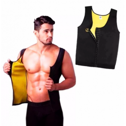 Faja, Chaleco Broches, Reductor,slim ,hot Shapers,hombre Xxl