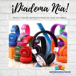 Diadema Audifonos Recargables Inalambricos Bluetooth