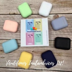 Audifonos AirPods I12 Tws Touch Táctil Bluetooth 5.0 + Obseq